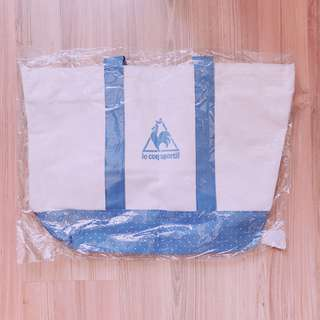 Le Coq Sportif Tote Bag polka dots large