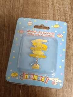 Sanrio 肉桂狗手機貼 charms飾物