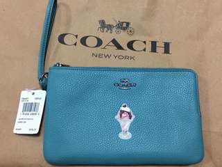 Coach Dual Zip Wallet (Guaranteed Authentic from US)