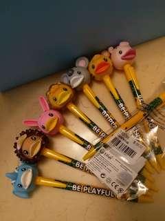 B.Duck大頭動物造型原子筆