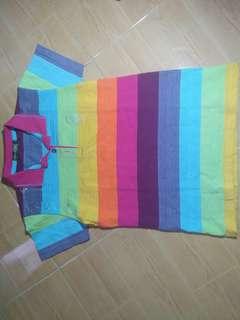Rainbow themed shirt
