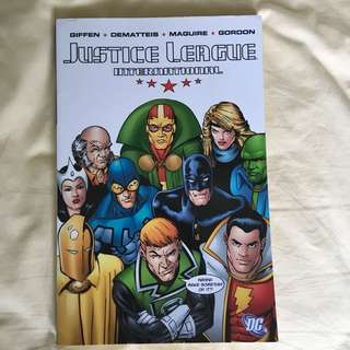 Justice League International Trade Paperback