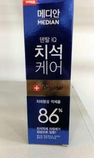 Korean toothpaste