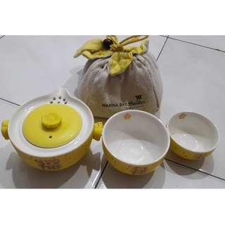 Marina Bay Sands Fu Lu Shou Teapot Set