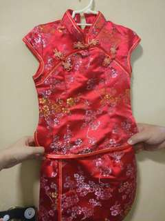 Toddlers Chinese dress