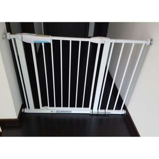Child Safety Gates with extensions (available white and black)