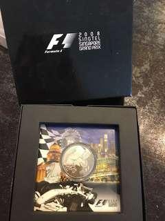 F1 2008 Singapore Grand Prix $2 coin