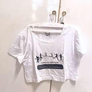 Tshirt Crop Top