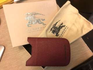 Burberry phone case (good for iPhone 6)