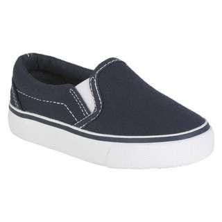 Joe Boxer Toddler Boy's Casual Canvas Shoes Lil' Les - Navy