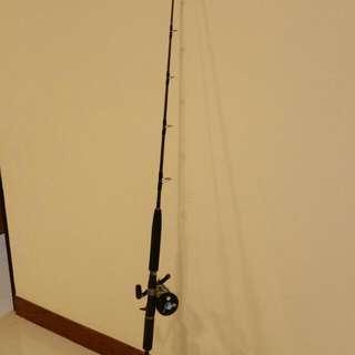 Fishing rod & reel(For bottom & jigging)