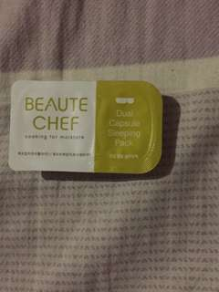 Beaute Cafe Sleeping Pack