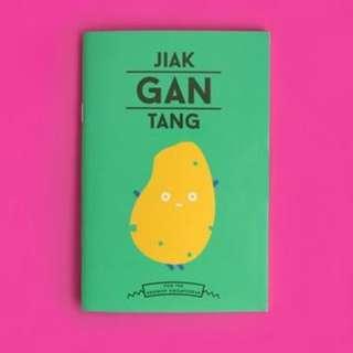 Singaporean-themed Notebook JIAK GAN TANG