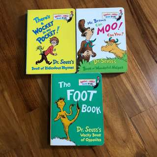 Dr Seuss's books
