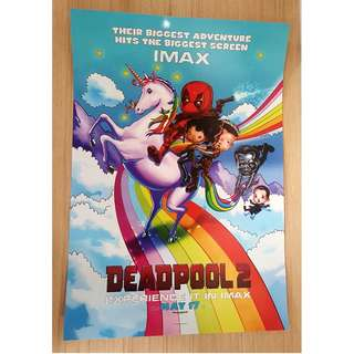Deadpool 2 (IMAX exclusive poster)