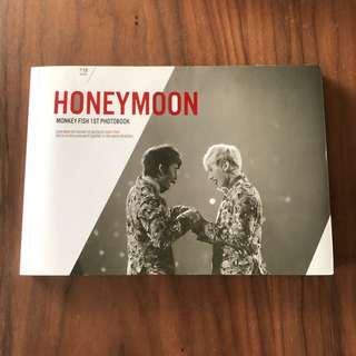 Super junior 赫海 monkey fish 首本寫真 honeymoon