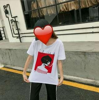 🚚 💥韓系短髮少女上衣