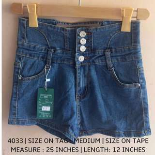4033 DENIM SHORTS