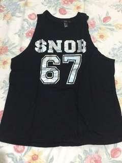 """Forever 21 """"Snob 67"""" Tank"""