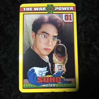 Suho The Power of Music Official Photocard
