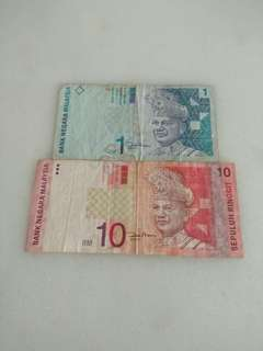 Old Malaysia Paper Ringgit