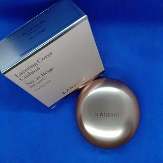 Laneige Layering Cover Cushion Shade 21 Natural Beige