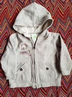 Hooded Jacket (18 mos.)
