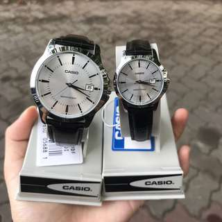 Casio Couple Watch (1 set)