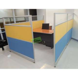 📍93pcs FULL FABRIC OFFICE PARTITION--KHOMI