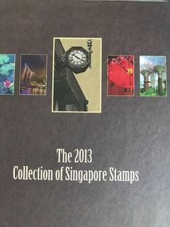 Singapore stamp collection 2013 - Mint