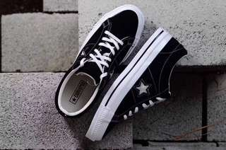 Converse One Star Seude