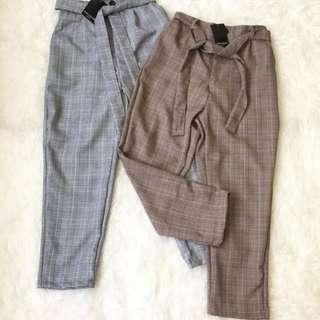 Celana Zara warna Brown