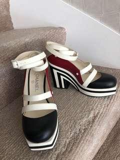 Chanel Runway Platform Heels