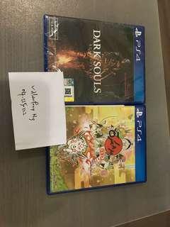 PS4 Dark Souls Remastered and Okami HD