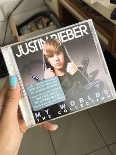Justin Bieber My Worlds Collection album