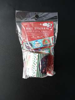 BN Roll of Christmas Stickers