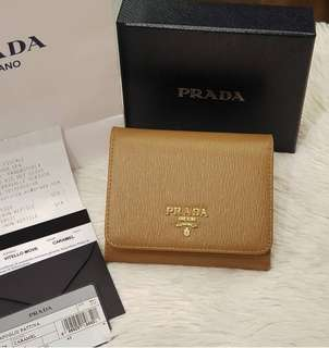 BRAND NEW PRADA 1MH176 Vitello Move Caramel ❤BIG SALE P24k ONLY❤ With box paperbag cards and receipt  Swipe for detailed pics  Cash/card/layaway accepted