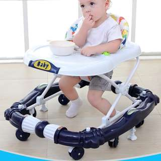 Baby Learning Walker Blue