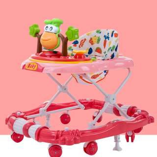 Baby Learning Walker Red