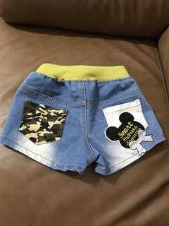 🚚 米妮牛仔短褲(7成新)