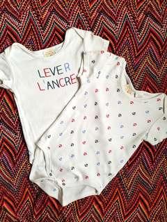 Zara Baby Onesies (12-18 mos.)