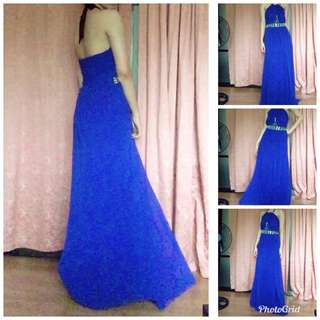 RENT/SALE Prom/Evening/Formal/Debut Gown Royal Blue Dress