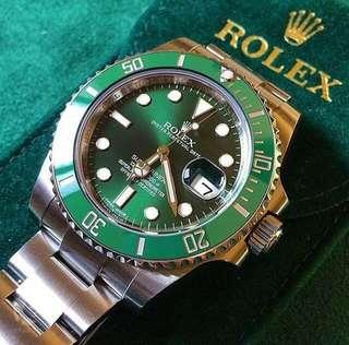 Rolex gmt hulk