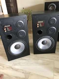 Acoustic 3 ways Speaker (Pair) 3311