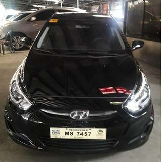 2017 Hyundai Accent 1.4 GL Black AT Gas