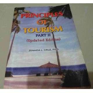 Principles of Tourism