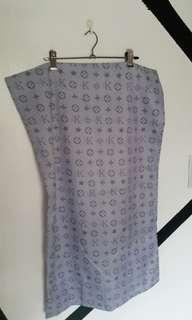 Gray pillowcase 2pc set