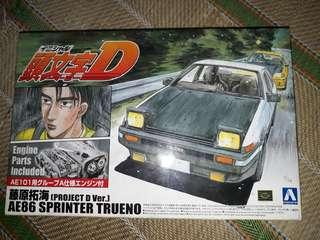 TOYOTA AE86 INITIAL D TRUENO KIT