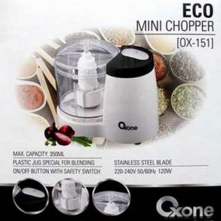 Eco Mini Chooper Oxone OX-151 Alat Penggiling Praktis Di Rumah