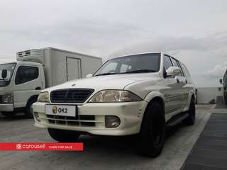 Ssangyong Musso Double-Cab